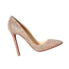 -inspired wedding details: Christian Louboutin shoes