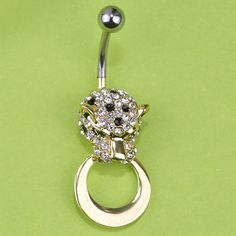 Illuminati Esmalte Panther Sexy Body Navel Belly Button Piercing Ring 316L Medical Stainless Steel For Personality Women Vaz Only $14.56  => Save up to 60% and Free Shipping => Order Now! #Ring #Jewelry #woman #fashion