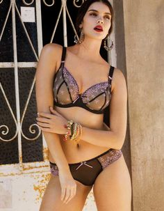 ... addition to your Lingerie Wardrobe.Designed to seduce and tempt the  Freya siren is made from a sheer lace tulle with soft contrasting flower  embroidery. 23cf4bcae