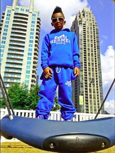 Chariot Inspired Sweatsuit Royal Blue
