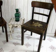 Vintage Stühle - Vintage Holzstuhl