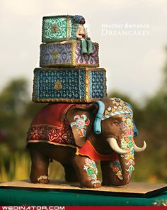 Magnificent Indian Elephant cake!