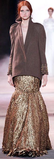 Ulyana Sergeenko Haute Couture Fall Winter 2013 2014