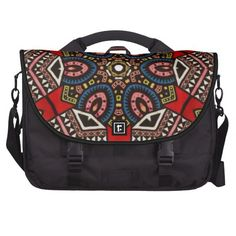 Exclusive designer tribal abstract lifestyle bag computer bag £153 Fabulous tribal contemporary abstract laptop bag £153 #Exotic tribal abstract #laptop lifestyle bag #commuter #travel bag  Striking #colourful tribal #abstract  #eastern #native #aboriginal #mayan #maori #commuter #hybridworld design ideal for #sports, #travel #commuting #work  #executives and #lifestyle  visit shop for 100s more designs www.zazzle.co.uk/keshdesign* or visit  www.hybridworld.uk for canvas art and prints