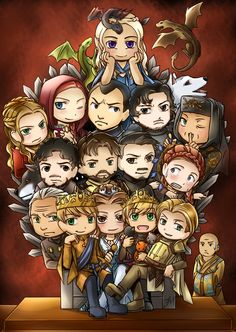 Game of Thrones: Who's the King? by Dark-Merchant