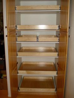 If You Want Your Pantry To Work For You Pull Out Shelves Are The Way To Go Click Through To See How These Drawers Can Transform Your Pantry Space