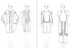 Fashion Sketchbook - fashion design drawings; fashion student portfolio // Clarise Itdriaga