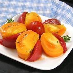 nice Heirloom Tomato Salad with Rosemary