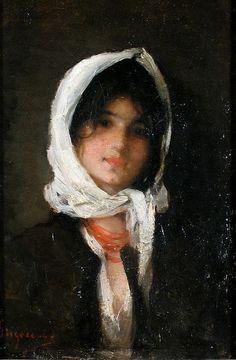 romania art painting, n. Russian Painting, Figure Painting, Painting & Drawing, Woman Painting, Classic Paintings, Portraits, Portrait Paintings, Impressionist Paintings, Traditional Paintings