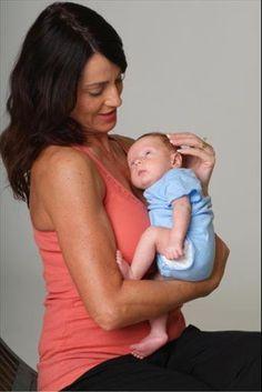 Nadia and child