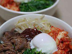 焼肉のタレで簡単ビビンバ☆韓国ごはんの画像