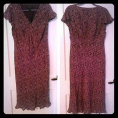 Purple Paisley Lane Bryant Dress Worn just a few times. Lane Bryant Dresses