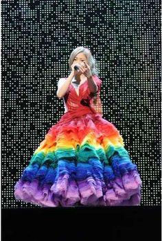 This dress is incredible. Worn by JPop singer Mai Kuraki.