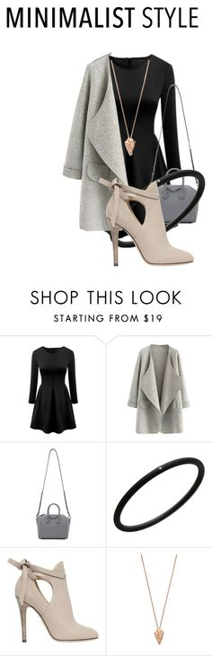 """Winter night out"" by hifsah ❤ liked on Polyvore featuring moda, Givenchy, André Ribeiro, Jimmy Choo e Pamela Love"