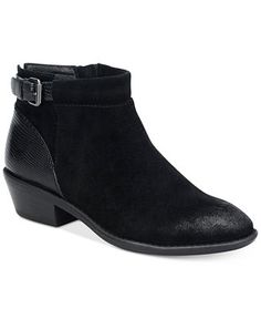 Sofft Vasanti Suede Booties - Boots - Shoes - Macy's