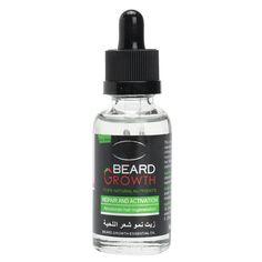 Aceite para el Crecimiento de la Barba Orgánica Natural Vela de Bálsamo Acondicionador de la Pérdida de Cabello 40ml