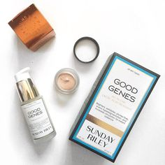 """Dont worry, you can always just buy yourself some good genes!  #MECCABeautyJunkie #enlightened @meccacosmetica @sundayriley  It's a wise purchase if its an investment right? "" Photo taken by @theoriginal_mon on Instagram."
