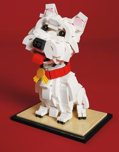 Parade magazine - Made from Legos
