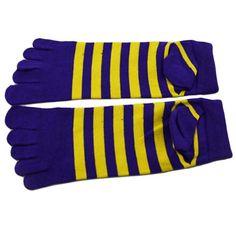 New arrival 1 Pair Men Cotton Meias Sports Five Finger Socks Toe Socks