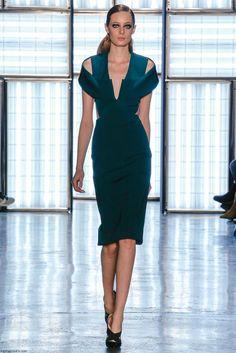 Cushnie et Ochs fall/winter 2015 collection - New York fashion week