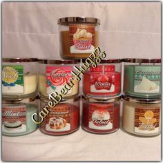 Bath and Body Works Holiday Traditions candles for winter 2013