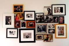 Feature wall of photos