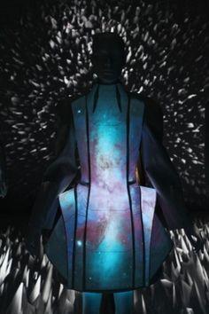 Future Girl, Futuristic Fashion, Alpha Lyrae, Futuristic Clothing, Electroluminescent, Vega Zaishi Wang, futuristic look, futuristic style by FuturisticNews.com