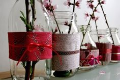 Girls Baby Shower - Kraamfeest meisje, Crafts mason jar Christmas decor ~ Only Deco