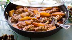 Boulettes de viande sauce tomate et pommes de terre au thermomix