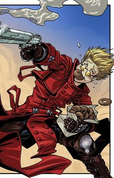 Trigun Vash the Stampede iPhone case. I really want it!!