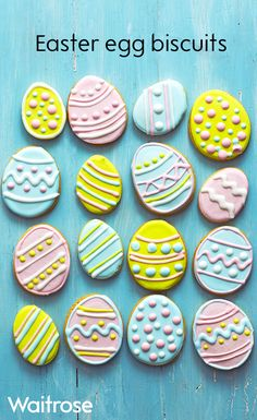 Get creative and have fun decorating these citrusy Easter biscuits - they make a. - Get creative and have fun decorating these citrusy Easter biscuits – they make a delicious Easter - Easter Cupcakes, Easter Cookies, Easter Treats, Easter Cake, Easter Lunch, Hoppy Easter, Easter Eggs, Easter Party, Easter Food