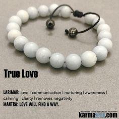 "TRUE LOVE: Yoga Bracelets | Reiki Healing | Meditation Jewelry ♛ #Larimar is often referred to as ""The Sole Mate"" stone.. #Blue #SoulMate #reiki #Bracelets #BEADED #Gemstone #Mens #CZ #Diamond #GiftsForHim #Lucky #womens #Jewelry #gifts #Chakra #Healing #Kundalini #Law #Attraction #LOA #Love #Mantra #Mala #wisdom #CrystalEnergy #Spiritual #Gifts #Mommy #Blog #Meditation #prayer #mindfulness #friendship #Stacks #Charm #Lucky #ValentinesDay #Valentine #Valentines #soulmateprayer"