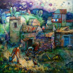 Álvaro Reja pintor del realismo onírico Buildings, Paintings, Music, Sculpture, Art, Fotografia, Paint, Painting Art, Muziek