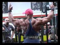 Dennis James back workout