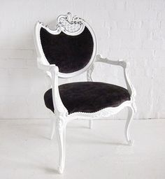 Traditional French Armchair / Neo Rococo Armchair Finished / Dutch Connection