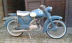 ZUNDAPP Scooters, Vintage Motorcycles, Cars And Motorcycles, Classic Bikes, Classic Cars, Fat Bike, Sidecar, Vintage Bikes, Street Bikes