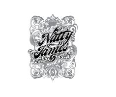 Typography piece.