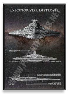 Star Wars Patent Prints Set of 6 Prints by PatentPrintsPosters
