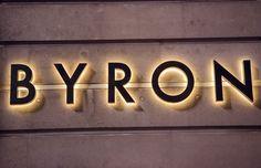 Charlie Smith Design — Byron Signage
