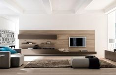Modern Living Room Design Ideas | Design, Furniture and Modern living rooms...