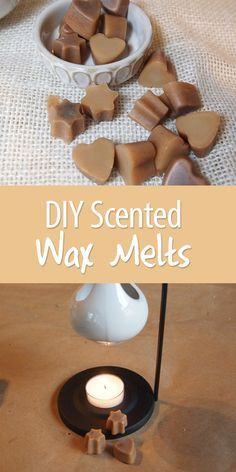 Homemade Scented Wax Melts Don't buy the expensive ones from the store. Many brands are actually not good for you to breathe! Make your own wax melts that are cheaper and non-toxic. Diy Wax Melts, Scented Wax Melts, Homemade Candles, Diy Candles, Scented Candles, Making Candles, Beeswax Candles, Candle Wax, Sent Bon