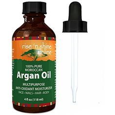 (4 oz) Pure Argan Oil for Skin - Best for Hair, Skin and Nails - 100% Natural Virgin Moroccan Argan Oil is a Great Shampoo, Conditioner, Hair Spray, Mask and Excellent Hair Growth and Loss Treatment -- Continue to the product at the image link. (This is an affiliate link) #HairCare