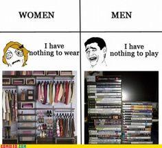 Women Logic vs. Men Logic