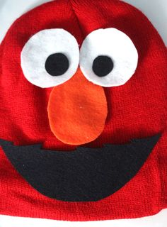 Make an easy elmo costume for toddlers fall holidays pinterest i made this easy diy elmo costume for my toddler in minutes its a simple solutioingenieria Choice Image