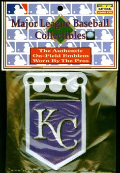 KANSAS CITY ROYALS VINTAGE 2002  PATCH BY NATIONAL EMBLEM FREE SHIPPING #PATCH