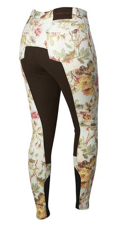 Flower breeches with fullskin. pretty sure i just died and went to equestrian heaven...
