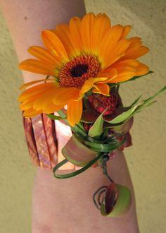 Gerbera Daisy for a modern corsage