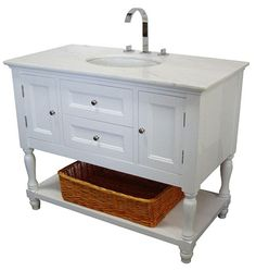 westwood single 42inch usa made plantation style bathroom vanity