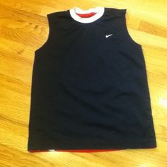 Nike reversible tank Nike reversible Jersey really cute no snags or stains in like new condition Nike Tops Tank Tops