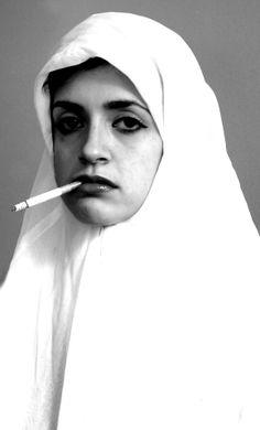 Aesthetica Magazine - Interview with God is a Feminist Artist, Sarah Maple Photo D Art, Art En Ligne, Iranian Art, Feminist Art, Women Smoking, Oeuvre D'art, Female Art, Les Oeuvres, Art Photography